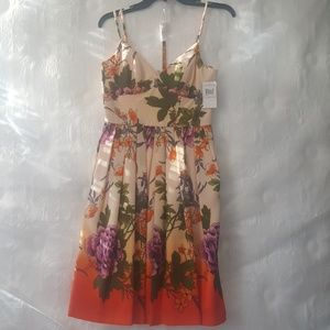 Muse Floral Strappy Dress